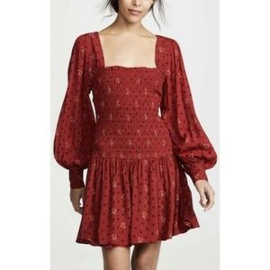 Free People Smocked dress sz Small. New with tags!